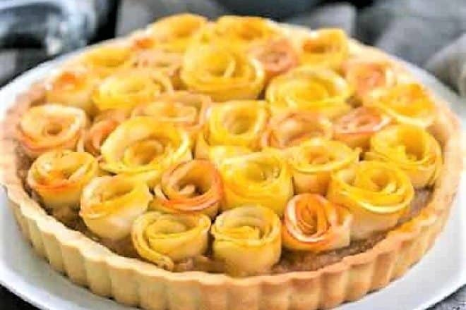 Rose Apple Tart featured image