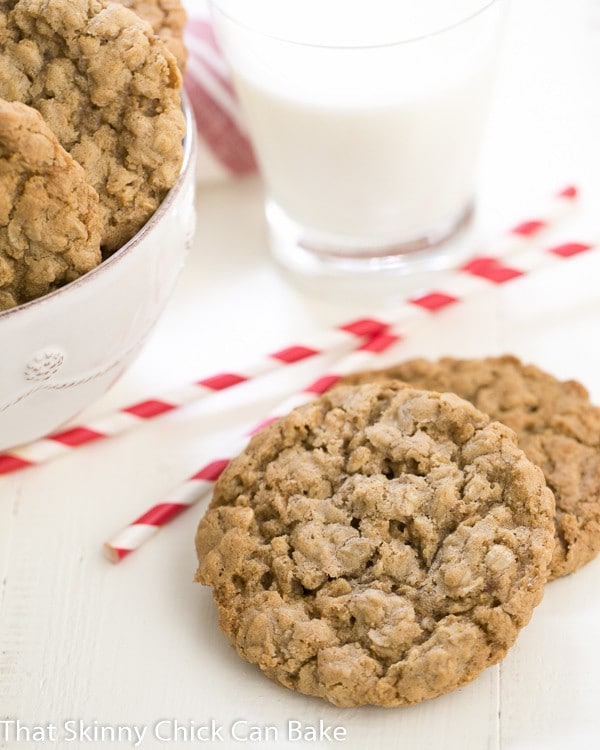 Classic Oatmeal Cookies | Chewy, buttery and irresistible