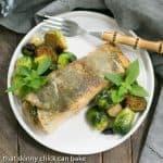 Potato Shingled Salmon