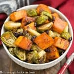 Roasted Autumn Vegetables with Dijon Vinaigrette