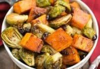 Roasted Autumn Vegetables with Dijon Vinaigrette