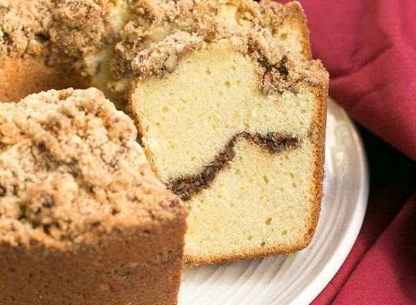 Streusel Coffeecake Pound Cake