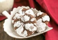 Chocolate Crackle Cookies #Giveaway