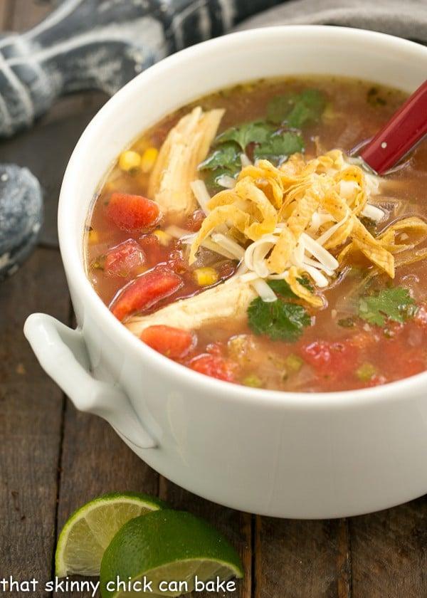 ... Turkey Tortilla Soup | A hearty soup that utilizes leftover turkey