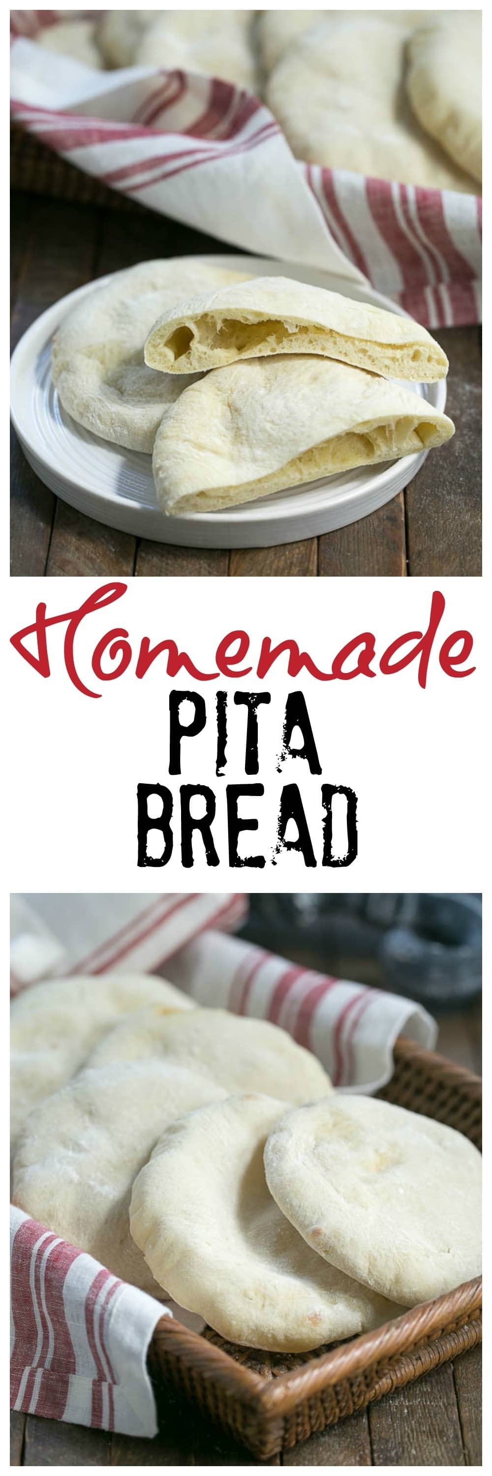 Homemade Pita Bread | Soft, pillowy and magnificent!!