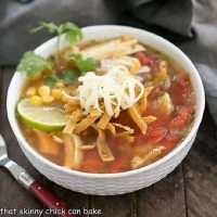 Turkey tortilla soup featured image