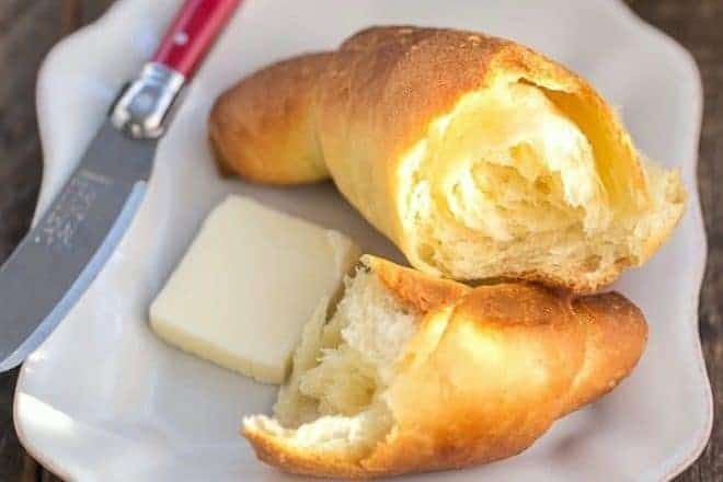 Buttery Homemade Crescent Rolls featured image