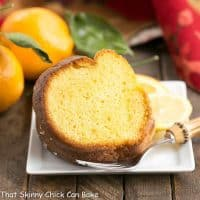 Easy Lemon Bundt Cake | Dense, citrusy and delicious! The shortcut will be our little secret!
