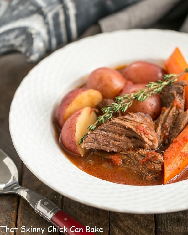 Easy Pot Roast #perfectionissimple #pomitomatoes - That Skinny Chick ...