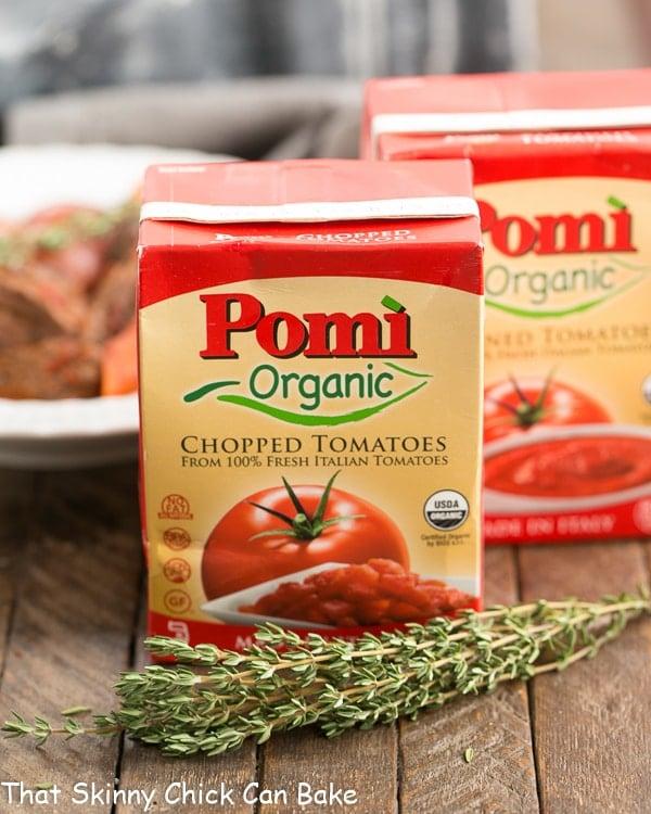 Pomi organic chopped tomatoes