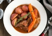 Easy Pot Roast #perfectionissimple #pomitomatoes