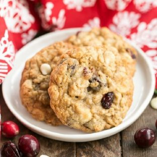 Gingered Cranberry Oatmeal Cookies featured image