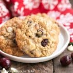 Gingered Cranberry Oatmeal Cookies #FBLCookieExchange #Giveaway
