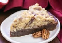 German Chocolate Brownie Pie #SundaySupper