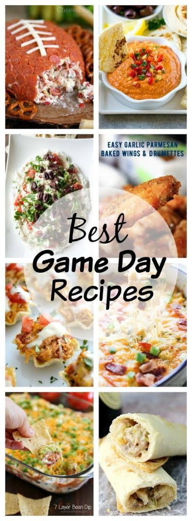 Best Game Day Recipes