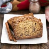 Cinnamon Topped Banana Bread featured image
