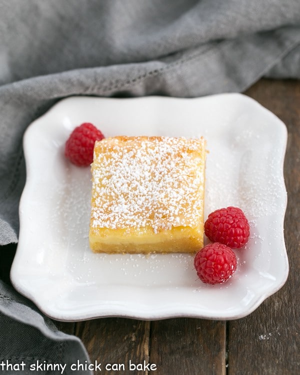 Gooey Butter Bars   An easy, semi-homemade family favorite!