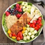 Superfoods Salad with Champagne Honey Vinaigrette