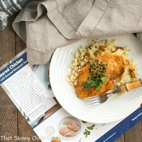 Seared Chicken from Blue Apron