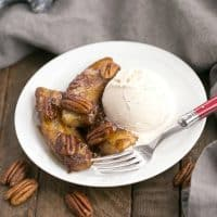 Bananas Foster | A simple, classic New Orleans dessert. Perfect for Mardi Gras!