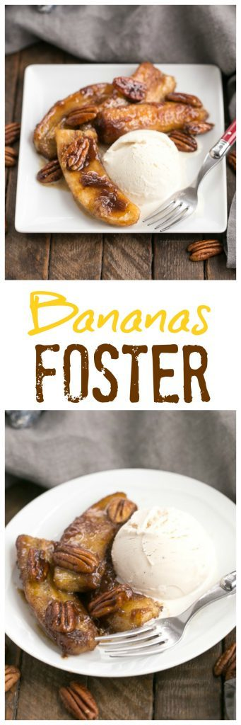 Bananas Foster   A simple, classic New Orleans dessert. Perfect for Mardi Gras!