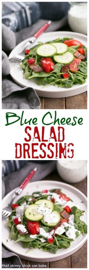 Best Blue Cheese Salad Dressing Transform simple greens into something amazing!