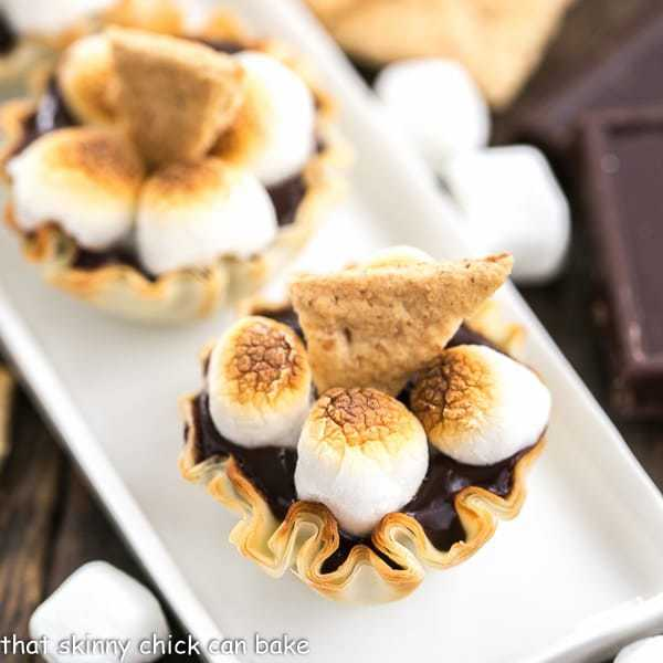 Mini S'mores Tarts | Easy, elegant and irresistible!
