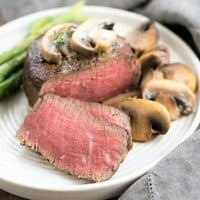 Mushroom Topped Pepper Steak Featured image