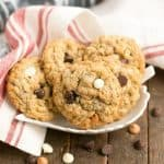Triple Threat Oatmeal Cookies