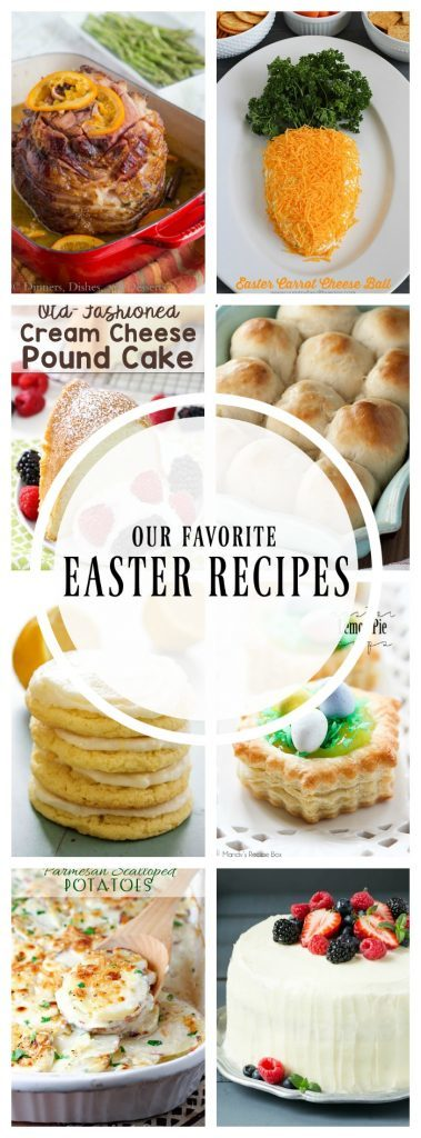 titled photo collage - Best Easter Menu Recipes