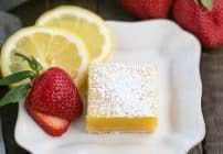 The Best Lemon Bars Recipe #SundaySupper