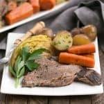 Irish Braised Corned Beef and Cabbage