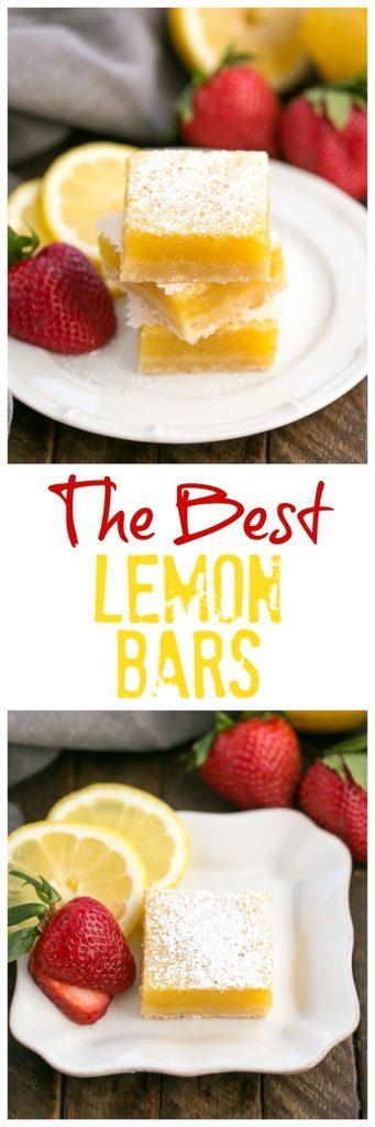 The Best Lemon Bars Recipe | A sublime citrus treat with a shortbread crust