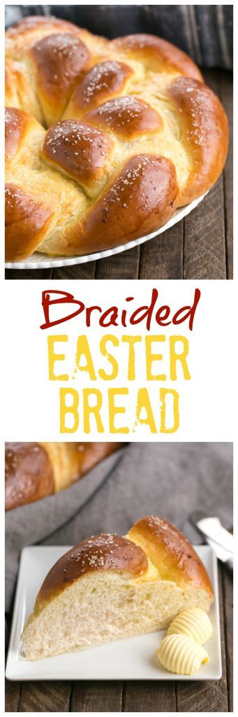 Braided Easter Bread Recipe | Tender, sweet, eggy bread that's perfect for any occasion!