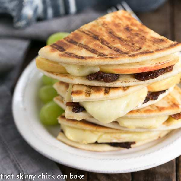 Bacon Apple & Brie Panini | A gooey, gourmet grilled cheese
