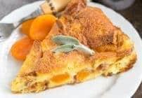Apricot Prosciutto Strata Recipe #SayItWithHomemade #BonneMaman