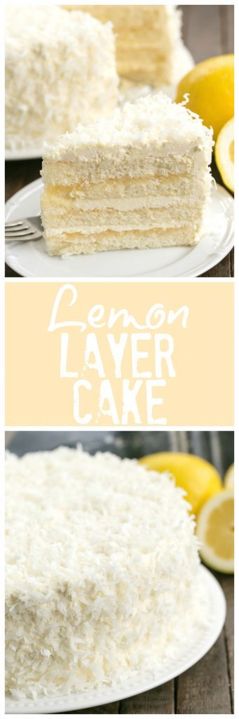 Lemon Dream Cake Meringue