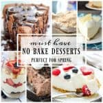 Favorite Spring No-Bake Desserts