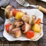 Honey Glazed Chicken Kabobs #SundaySupper