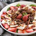 Strawberry Bacon Brie Salad #LongLiveProduce #NationalSaladMonth