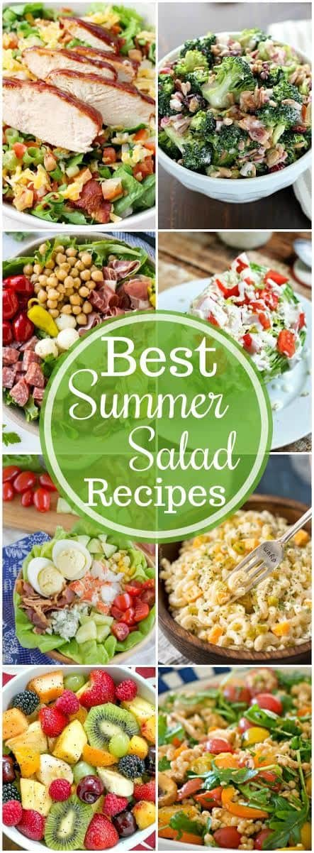 Best Summer Salad Recipes | Cool, refreshing salads that hit the spot on a hot day!