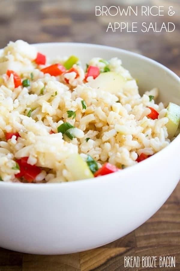 Brown Rice Apple Salad