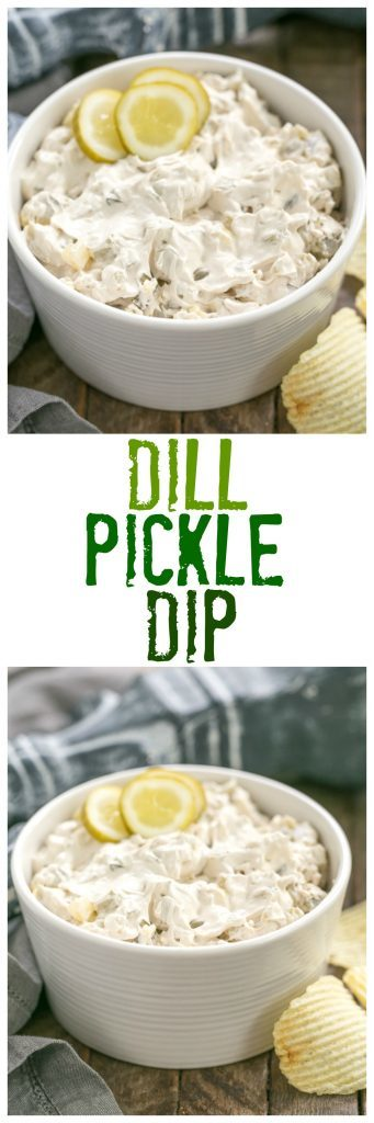 Easy Dill Pickle Dip | Get prepared for rave reviews! Only 5 ingredients!