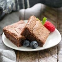 Simple Fudgy Brownies featured image