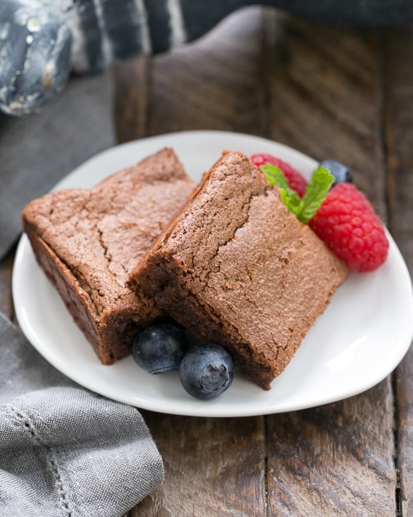 Simple Fudgy Brownies   An unusual technique to make the fudgiest brownies ever!