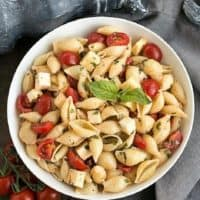 Tomato Basil Pasta Salad featured image