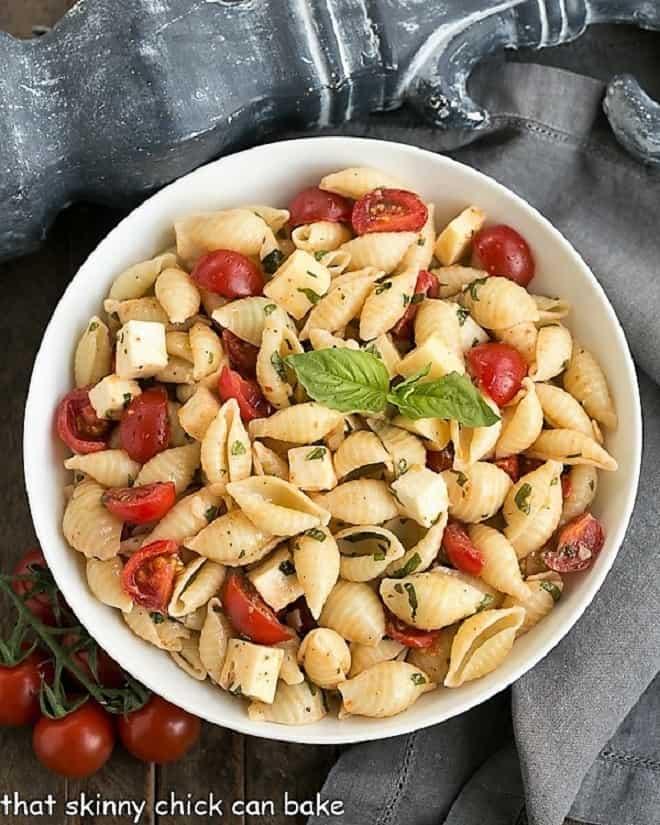 Tomato Basil Pasta Salad featured image