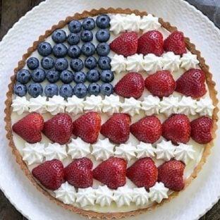 American Flag Fruit Tart featured image