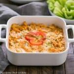 Buffalo Chicken Dip Recipe #SundaySupper