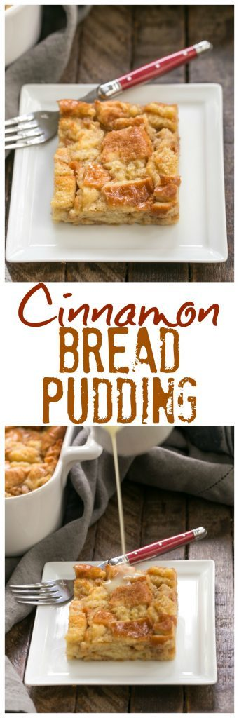 Cinnamon Bread Pudding with Whiskey Sauce | An unusual tweak makes this the lightest, tenderest, most amazing bread pudding!